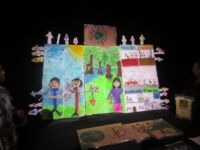 Students Draw Attention to Wildlife Trafficking at School Event Wildlife Trafficking Education cildren drawing 200x150