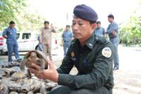 Journal of Applied Ecology – Dr. Thomas Gray, the work of Wildlife Rapid Rescue Team (WRRT) Animals Rescued Cambodia Wildlife Police 200x133