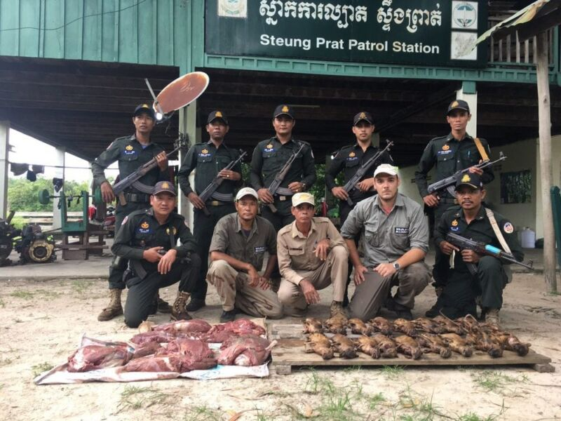 52kg Wildlife Seized Wildlife Alliance Rangers Wildlife Seized 800x600