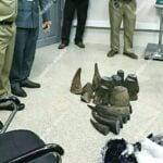 wildlife police Wildlife Police Rhino Horn Seized at Airport cambodia 1 150x150