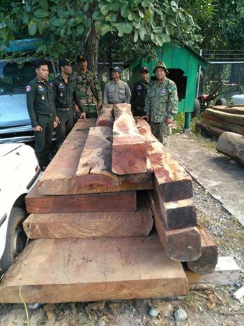 Chambok ranger station confiscated 18 pieces (1.85m3) of luxury wood worth thousands of dollars Chambok ranger station confiscated 18 pieces (1.85m3) of luxury wood worth thousands of dollars 59a822914ef83 Wildlife Alliance Rangers