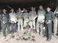 Wildlife Alliance rangers seized live wildlife in a residential home Cambodia live wildlife rescued 200x150