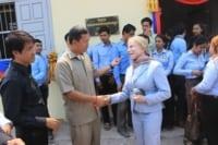 Ms. Suwanna Gauntlett met with H.E. Hun Manet to inaugurate 5 Schools and Health Center Suwanna Gauntlett and Hun Manet Community 200x133