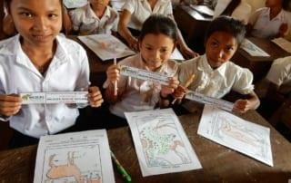 Momentous Achievement for Education Program The Kouprey Express Cambodia Education 320x202