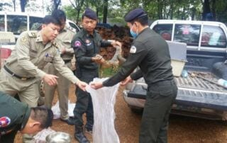Bushmeat Seized From Stung Treng City Market Bushmeat Seized From Stung Treng City Market Wildlife Alliance Bushmeat Seized 320x202