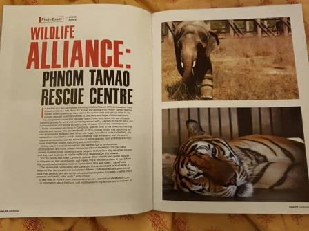 Documenting Our Conservation Work! Documenting Our Conservation Work! AsiaLIFE Wildlife Alliance article