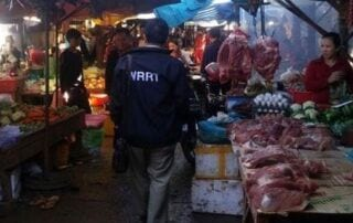 WRRT Monitors the Local markets for illegal Wildlife Meat WRRT Monitors the Local markets for illegal Wildlife Meat Cambodia WRRT illegal wildlife meat trade 320x202