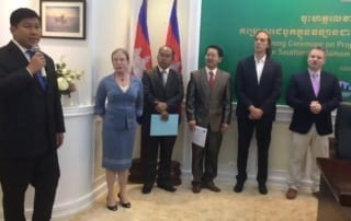 Part 2 of REDD+project Cambodian Minister of Environment H