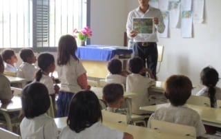Preventing Poaching through Community Education Kouprey Express Cambodia Education 320x202