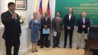 suwanna gauntlett Suwanna Gauntlett Cambodian Minister of Environment H