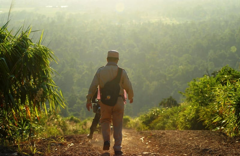forest rangers changing local perceptions of wildlife crime Forest Rangers Changing Local Perceptions of Wildlife Crime Wildlife Alliance Forest ranger MoE 800x519
