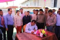 Community-Based Ecotourism Chhay Areng Valley – H.E. Thong Khon, Minister of Tourism and Suwanna Gauntlett CEO WA HE Thong Khon and CEO Wildlife Alliance Suwanna Gauntlett the signature 200x133