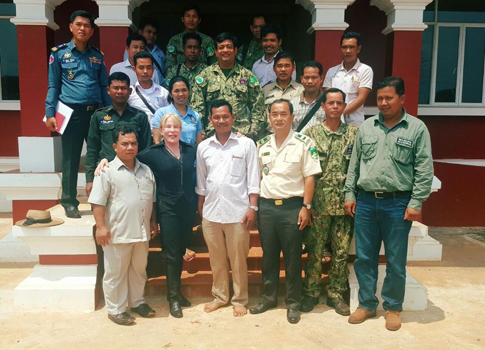 400 community members in Koh Kong Koh Kong local authorities
