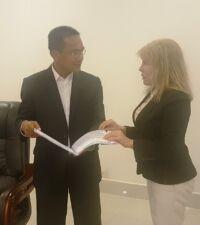 Heads of NGOs meeting with H.E. Sao Sopheap Ngo Cambodia meeting 200x225