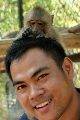 Phnom Tamao Wildlife Rescue Center team Phnom Tamao Wildlife Rescue Center team monkey