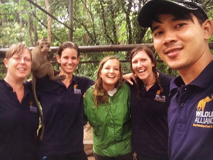 Phnom Tamao Wildlife Rescue Center team Phnom Tamao Wildlife Rescue Center team