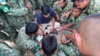 Ranger Training session in Kampong Thom by Wildlife Alliance Ranger training by Wildlife Alliance GPS training 200x113
