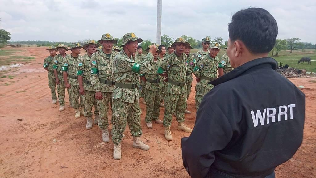 Ranger Training session in Kampong Thom by Wildlife Alliance Ranger Training session in Kampong Thom by Wildlife Alliance Ranger training by Wildlife Alliance Wildlife Rapid Rescue Team WRRT