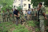 Ranger Training session in Kampong Thom by Wildlife Alliance Ranger training by Wildlife Alliance imobilisation Eduard Lefter 200x133