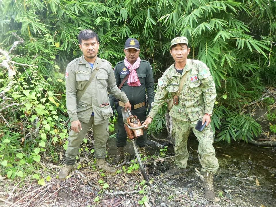 wildlife alliance rangers fighting loggers in cambodia Wildlife Alliance Rangers fighting loggers in Cambodia Rangers stop logger