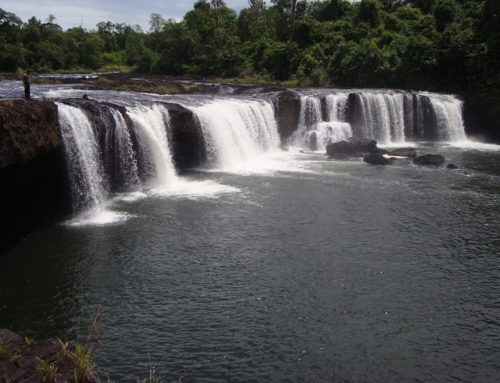 Waterfalls in Chi Phat, Koh Kong province
