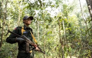 Steung Proat Wildlife Alliance Patrol Station rangers Wildlife Alliance Ranger 320x202