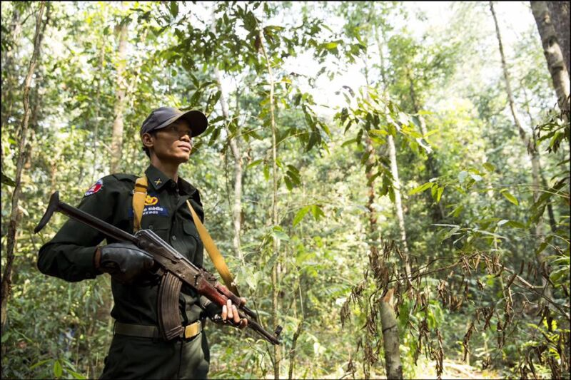 Steung Proat Wildlife Alliance Patrol Station rangers Steung Proat Wildlife Alliance Patrol Station rangers Wildlife Alliance Ranger 800x533