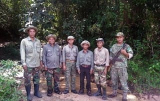 VOTE - Sustainable livelihoods and tourism VOTE – Sustainable livelihoods and tourism Community Forest Rangers 2 320x202