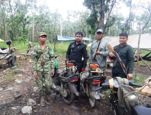 Chambak Wildlife Alliance Rangers on the Front Lines of Anti-Poaching