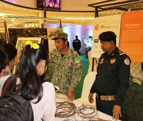 wildlife rapid rescue team – disparate duties… Wildlife Rapid Rescue Team – disparate duties… Snare campaign Cambodia Wildlife Alliance