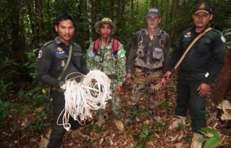 chambak patrol station - 5 chainsaws and 131 rope snares Chambak Patrol Station – 5 chainsaws and 131 rope snares wildlife snaring crisis 5 460x295