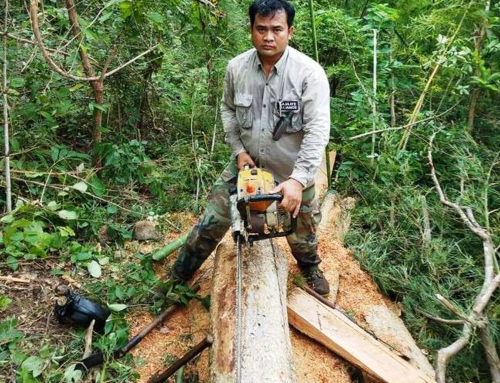 Chambak Patrol Station – 2 chainsaws