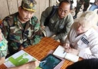 Suwanna Gauntlett meets with General Chhun Chheng Suwanna Gauntlett meets with General Chhun Chheng Suwanna Gauntlett and General Chhun Chheng Bokor National Park 200x142