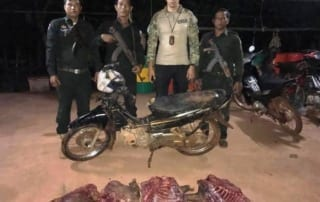 40 kg of bushmeat confiscated and destroyed 40 kg of bushmeat confiscated and destroyed Wild Pig Body Parts siezed 320x202
