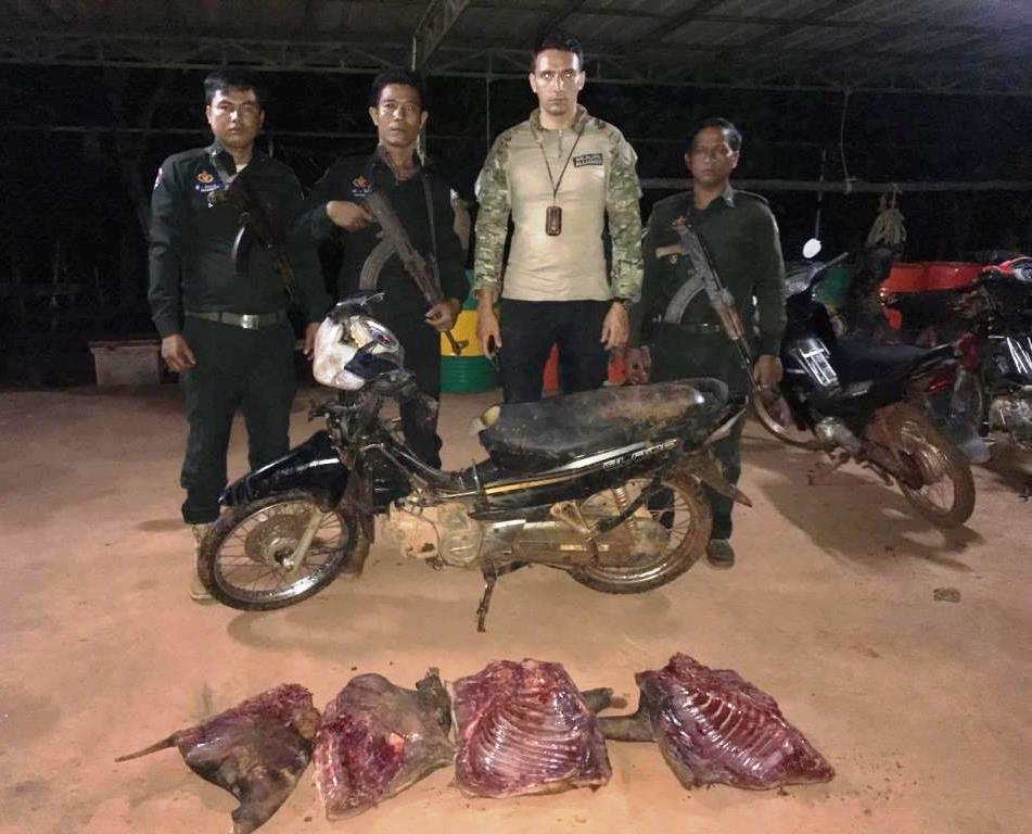 40 kg of bushmeat confiscated and destroyed 40 kg of bushmeat confiscated and destroyed Wild Pig Body Parts siezed