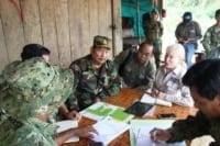 Suwanna Gauntlett meets with General Chhun Chheng Suwanna Gauntlett meets with General Chhun Chheng forest restoration bokor 200x133