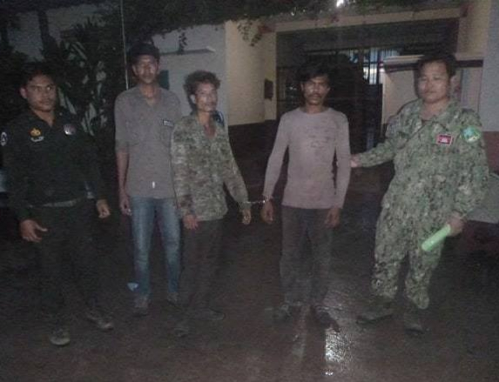 One Chainsaw, two loggers arrested