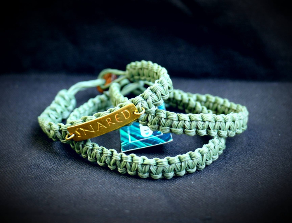 Our snare bracelets are not only a hot fashion item