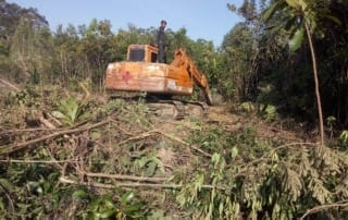 excavator seized in protected forest Excavator seized in protected forest Escavator Stopped from clearing 320x202