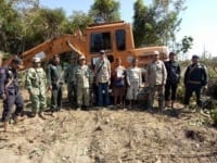 excavator seized in protected forest Excavator seized in protected forest Escavator confiscated in land grabbing case 200x150