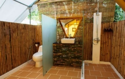 cardamom tented camp Cardamom Tented Camp cardamom tented camp Bathroom 400x255