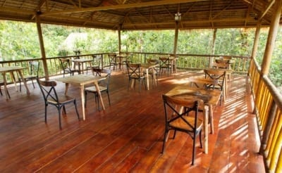 cardamom tented camp Cardamom Tented Camp cardamom tented camp Restaurant area 400x246