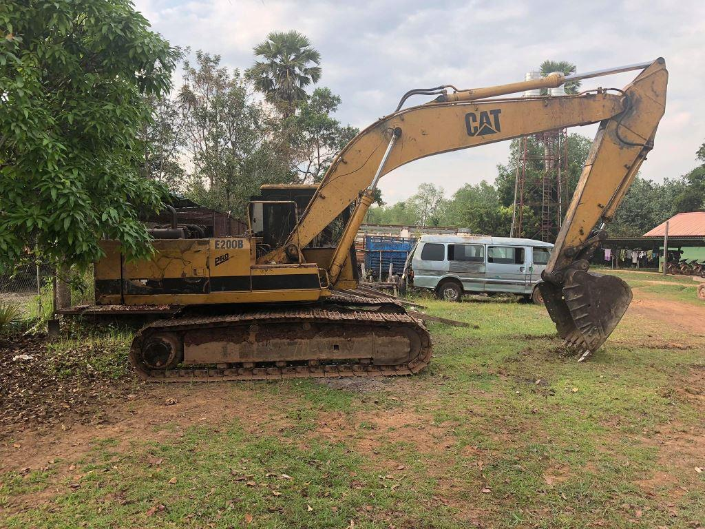 forest destroyed 8 hectares of forest destroyed! One excavator confiscated and 2 people in prison Excavator Confiscated in forest clearing