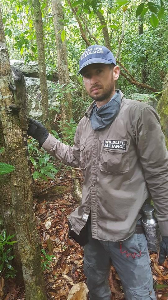 hunter camp Hunter camp deep in the Cardamom Rainforest Landscape Lisard Asia Forest Guard