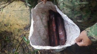hunter camp Hunter camp deep in the Cardamom Rainforest Landscape Rose wood Illegal Cambodia 400x225