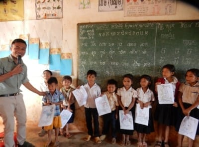 wildlife Wildlife and forest conservation lessons conservation lessons Cambodia 400x295 wildlife alliance Home conservation lessons Cambodia 400x295