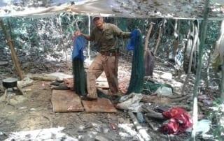 hunter camp Hunter camp dismantled – Chhay Areng Patrol Station hunter camp jungle 320x202