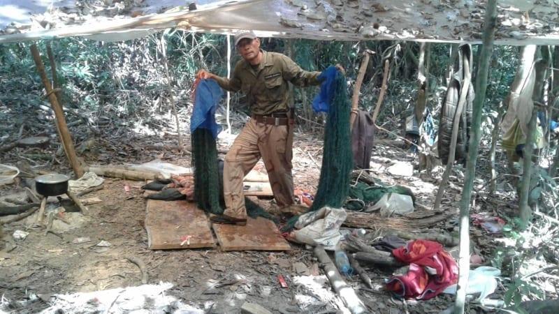 hunter camp Hunter camp dismantled – Chhay Areng Patrol Station hunter camp jungle 800x450
