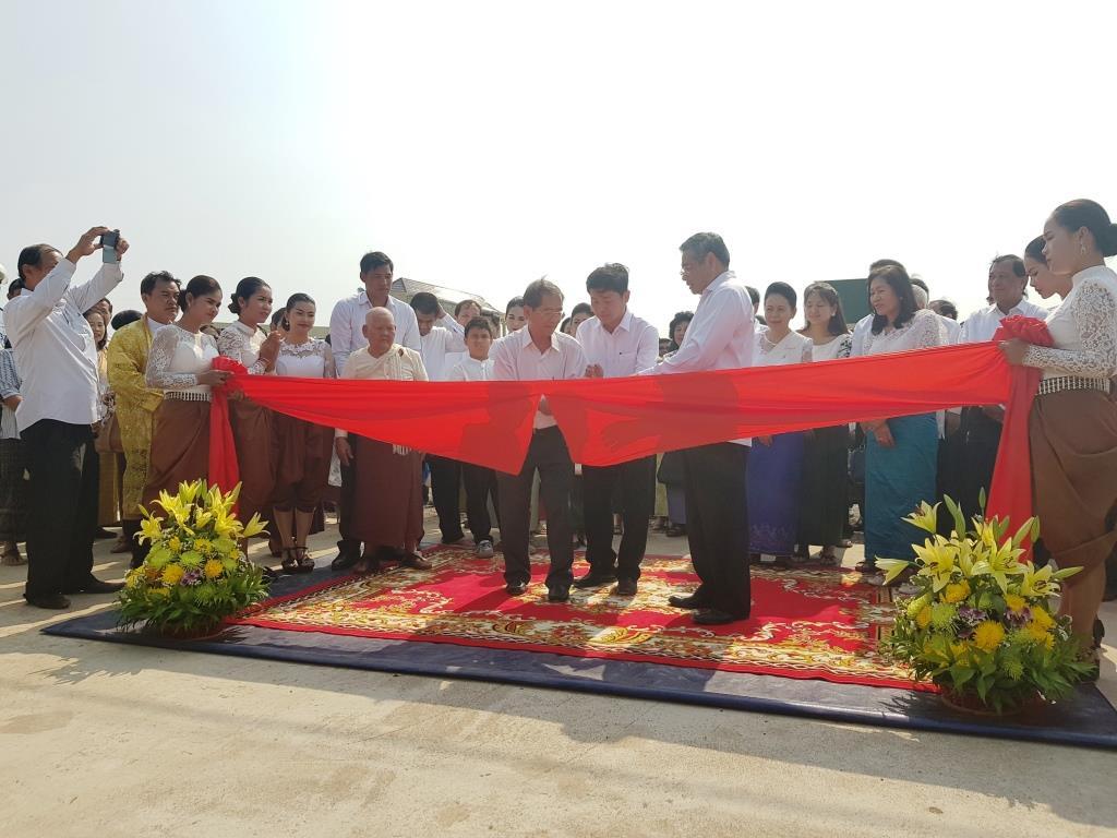wildlife alliance ceo Wildlife Alliance CEO attends opening of Kranhoung Conservation Center 20180201 100716
