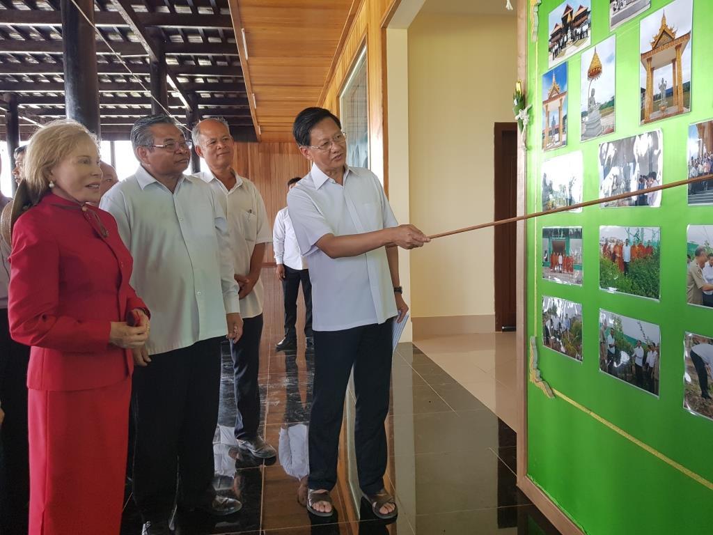 wildlife alliance ceo Wildlife Alliance CEO attends opening of Kranhoung Conservation Center 20180201 103809